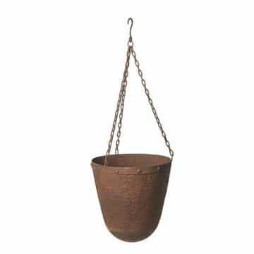 hängande järnkruka