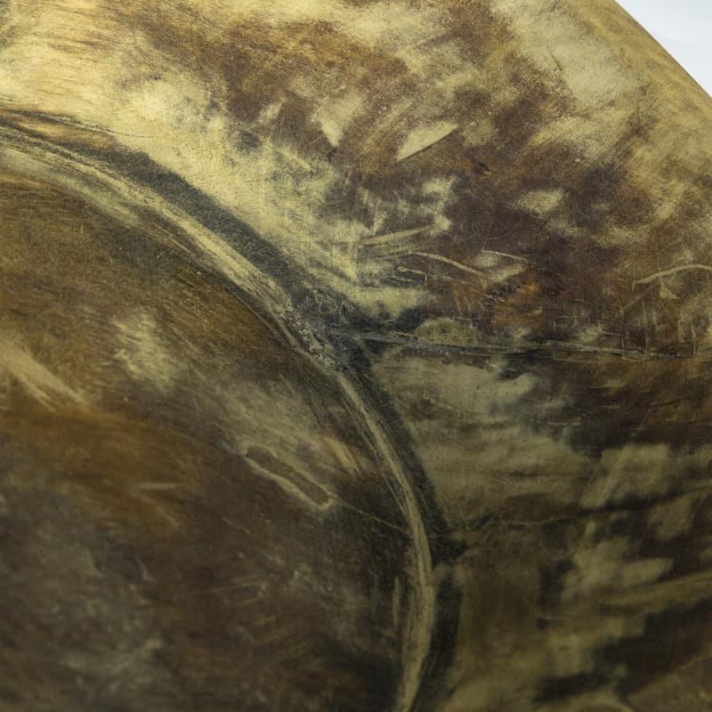 Träskål gammal och unik trätråg
