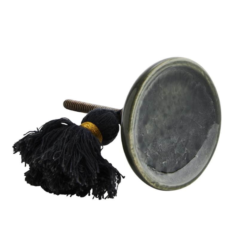 Porslinsknopp dörrknopp med toffs