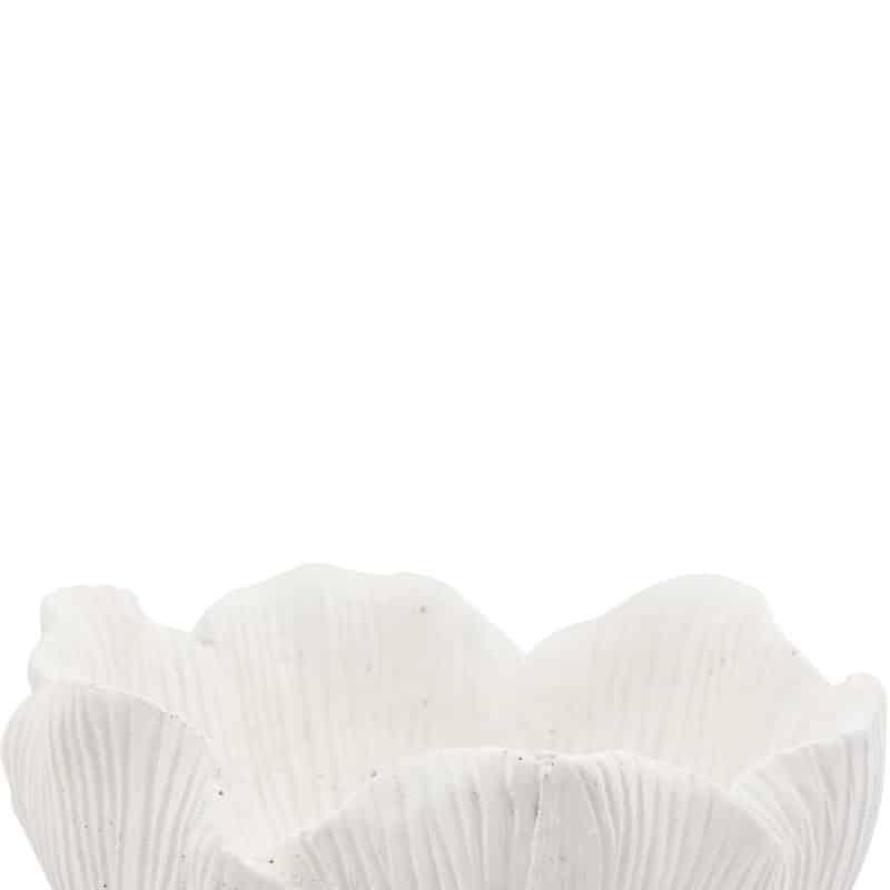 Kruka eller skål i form av ett blad