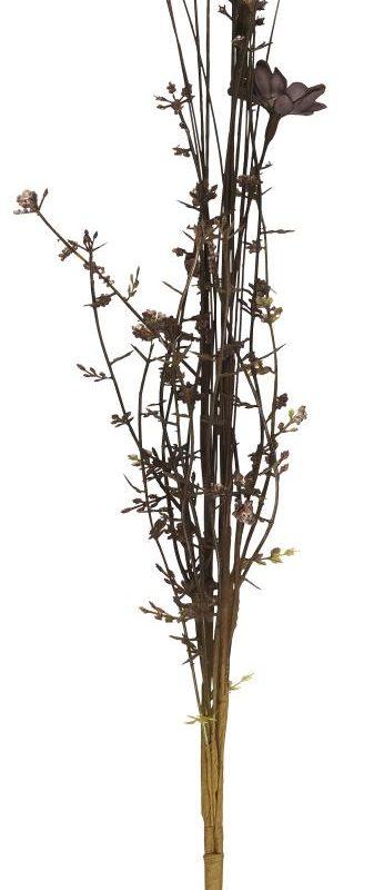 Bukett av snittblommor bruna nyanser