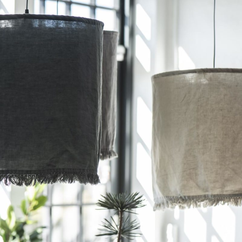 Lampa i linne natur