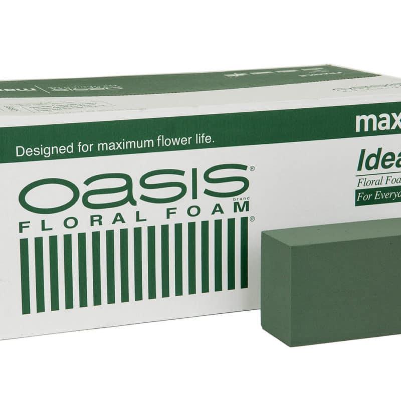 Oasis block – för torra och blöta dekorationer