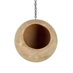Terracotta ampel boll